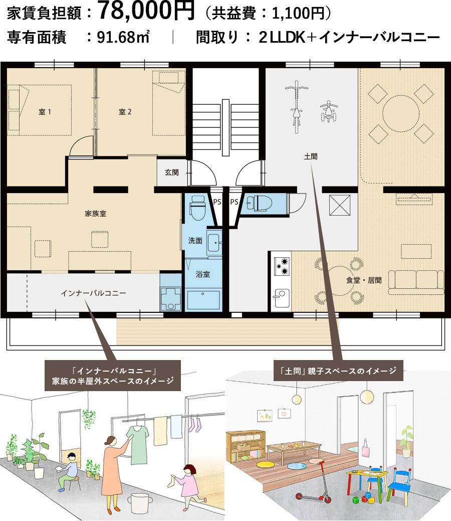 4棟1階301号室